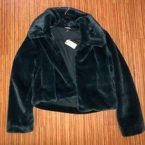 Express Fuzzy Jacket
